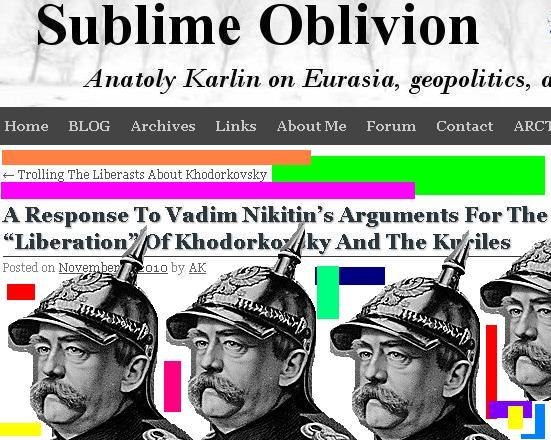 Karlin a la Nikitin.