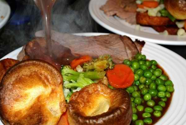 The Sunday roast.