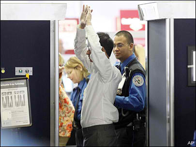 "The TSA has courted controversy with its ""naked body"" scanners."