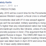 Ukraine Predictions