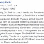 Ukraine Predictions