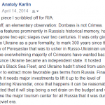 Russia's Game Plan in Donbass
