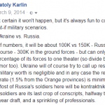 What If?: Ukraine vs. Russia