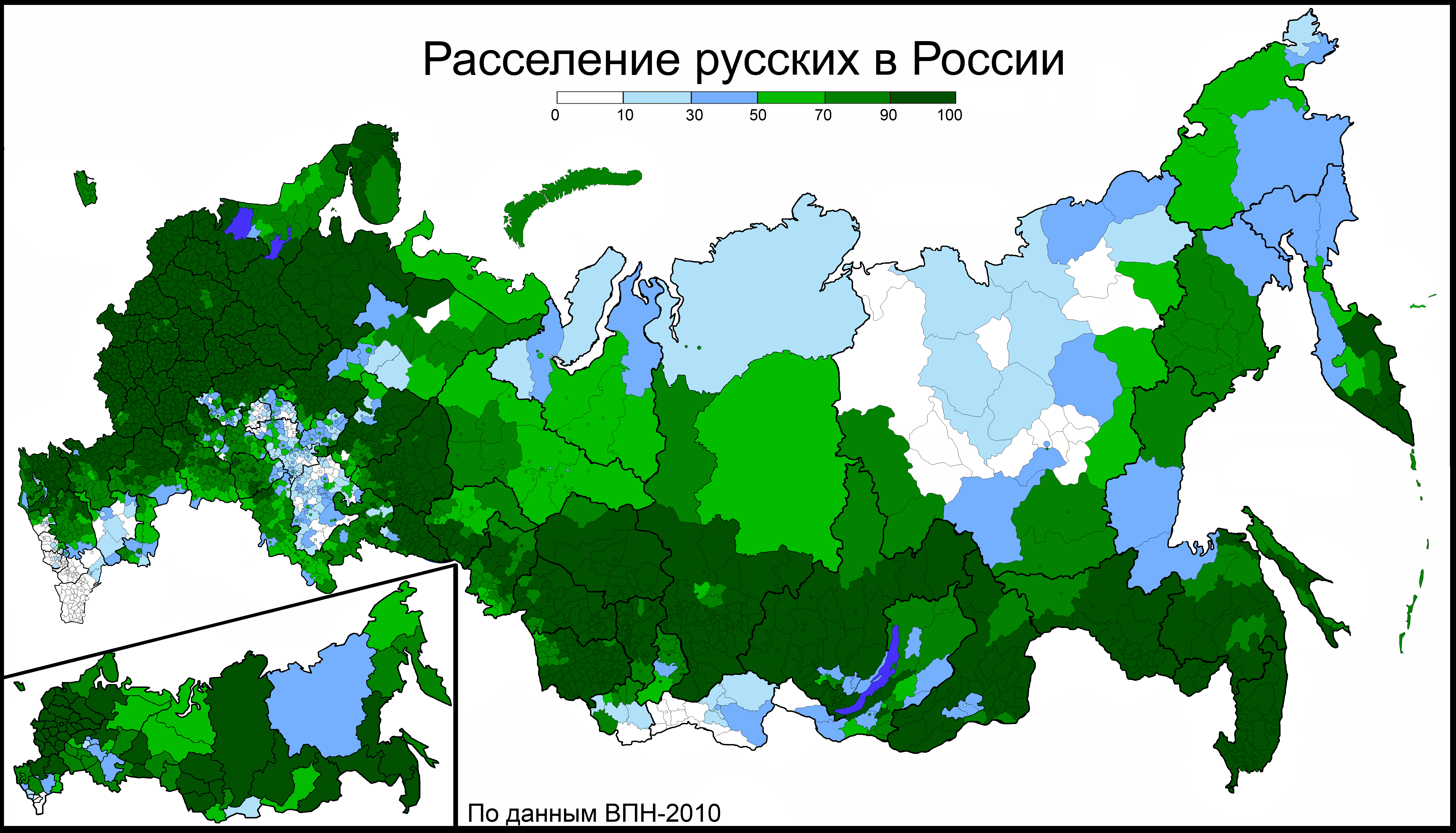 Russian Map Of Russia.Rurik S Seed